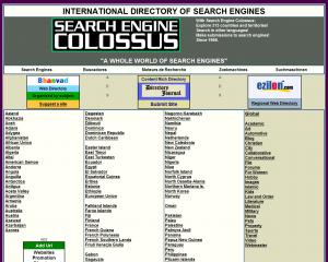 Search Engine Colossus